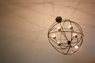 Light fixture in Room A